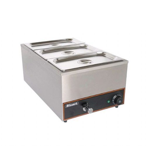 Blizzard Bain Marie with 3 containers